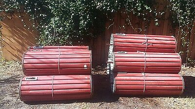 "39""wide & 43"" wide x 7'tall  Metal Commercial Roll up Garage Doors"