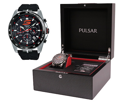 New Official Pulsar 2017 SuperCars Limited Edition Chronograph Dress Watch $399