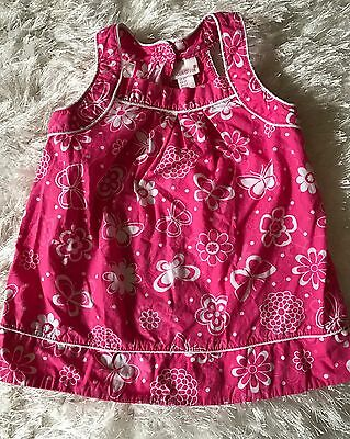 Toddler Girls Boutique MAGGIE & ZOE Pink/White Summer Dress Sz 2T