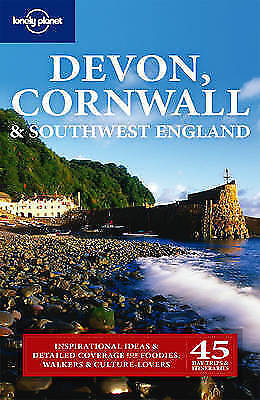 Lonely Planet Devon Cornwall & Southwest England (Regional Guide)-ExLibrary