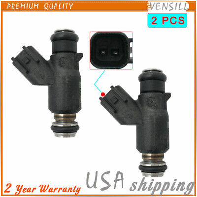 2 PCS Fuel Injector For OEM Harley Davidson Motorcycle 25 Degree 27709-06A