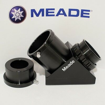 """Meade 2"""" SCT diagonal UHTC 90 degree mirror with 1.25"""" telescope adapter, Japan"""