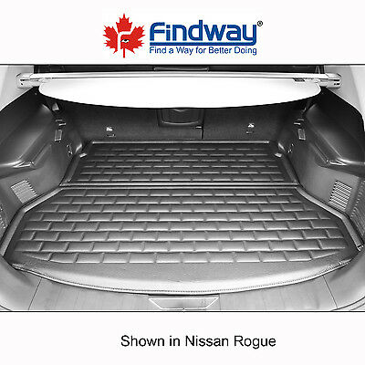 Black All Weather 3D Custom Trunk mat / Cargo Liner for 2014-2017 Nissan Rogue