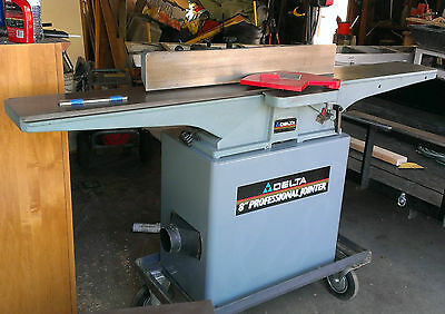 "8"" Professional Delta Jointer 37-380  52-678"