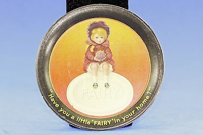 Vintage Fairy Soap Advertising Metal Tray Chas Shonk Co Chicago