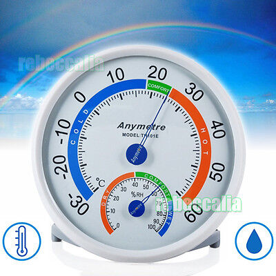 PRÄZISIONS Temperatur Feuchtigkeit Hygrometer Thermometer Messung Thermometer