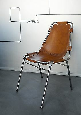 Chaise Charlotte Perriand Les Arcs Chair Mid-Century