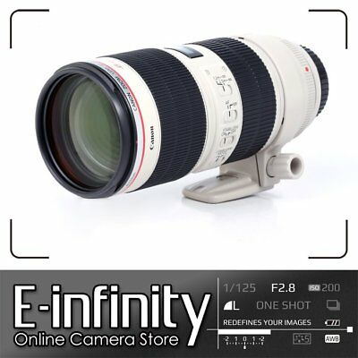 NUEVO Canon EF 70-200mm f/2.8 L IS Mark II USM Lens
