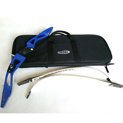 Waterproof Black Bow Case Bag Storage for Recurve Bow Archery Handle Carrying