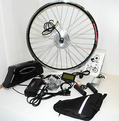 250W Electric E Bike Conversion Kit With Battery 36v Lithium Front/Rear Wheel