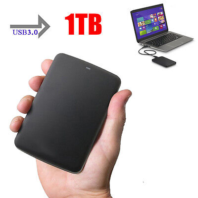 New USB3.0 1TB Stable External Hard Drives Storage Portable Mobile Hard Disk C