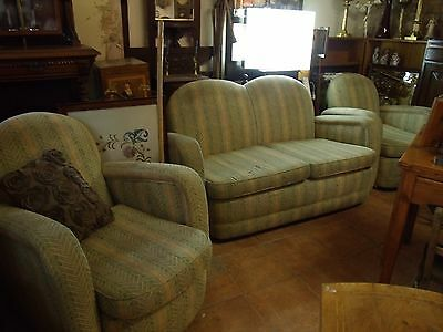 edwardian 3 piece club suite