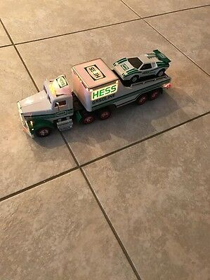 1991 Hess Toy Truck And Racer Box And Packaging Included