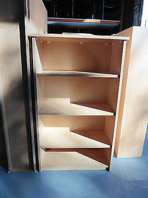 Office Bookcase 1500Mm Beech Brisbane