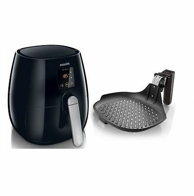 PHILIPS Heißluft-Fritteuse Airfryer HD9236/20 Fritöse 1400W Friteuse+Grillpfanne
