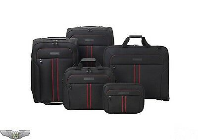 Jaguar Collection New Genuine F-Type 5 Piece Luggage Suitcase Set 50JFTLUGSET