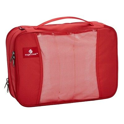 Eagle Creek Pack-It Original Clean Dirty Cube Kleidertasche Red Fire
