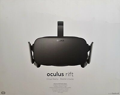 OCULUS Rift VR Virtual Reality Brille, Xbox One Controller - Neu & OVP, Händler