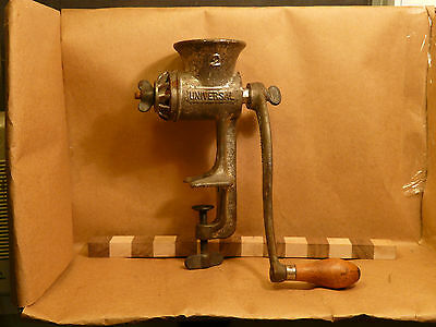 Vintage Universal Counter Mounted Meat Grinder Size 2 INV2348