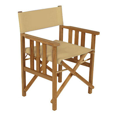 Stone Director Chairs Replacement Water Resistant Canvas Covers Garden Furniture