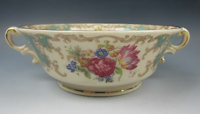 Syracuse China ROMANCE-GREEN Cream Soup Bowl(s) EXCELLENT