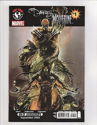 The Darkness/Wolverine #1 NM- 9.2 Image/Marvel Comics