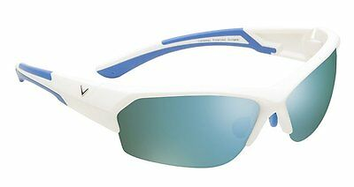 NEW Golf Callaway C80017 Matte White Plastic Frame, Gray Lens Raptor Sunglasses
