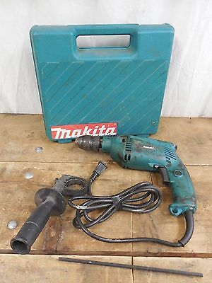 Makita Hammer Drill Hp1501 Corded Electric 1/2""