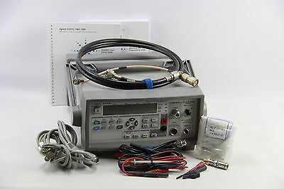 Agilent 53147A Microwave Frequency Counter Power Meter DVM 2-Channel 20GHz HP