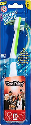 """Arm & Hammer Tooth Tunes, 1D """"One Thing"""", Soft, Musical Toothbrush"""