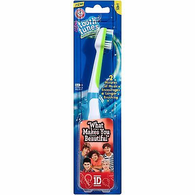 """Arm & Hammer Tooth Tunes, 1D """"What Makes You Beautiful"""", Soft Musical Toothbrush"""