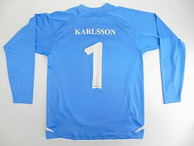 2005 2010 Umbro H.K. Tyrold Sweden goalkeeper shirt long sleeve YM KARLSSON #1