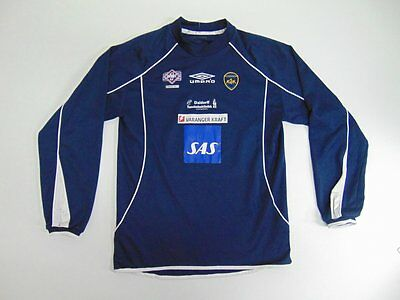 2005 2010 Umbro Kirkenes SK Norway home shirt soccer football long sleeve XS