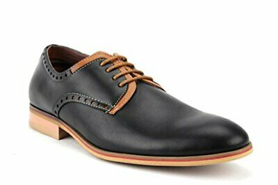 e6f6d409b78ed NEW FERRO ALDO Men's Round Toe Lace Up Two Tone Casual Dress Oxfords Shoes