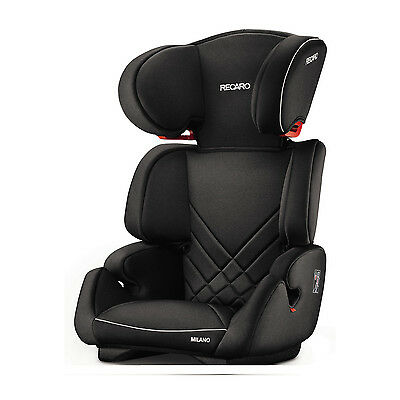 Recaro Milano Performance Black Black Child Seat (15-36 kg) (33-80 lbs)