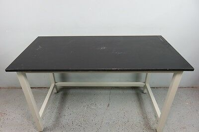 New England Casework Lab Table with Epoxy Top