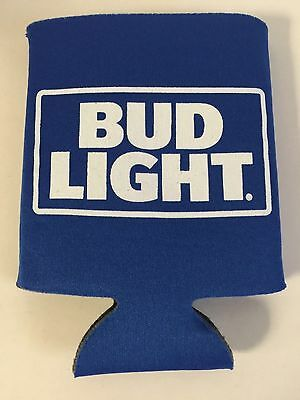 4 New  REAL DEAL BUD LIGHT CAN Soft sided Beer Koozie  Coozie Coolie