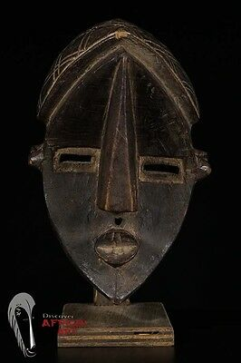 Discover African Art Lwalwa Mask from DRC