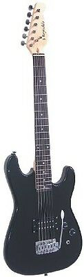 J. Reynolds 3/4-size Electric Guitar - Black. Free Delivery