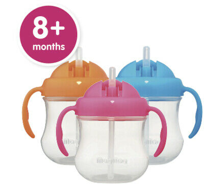 Pigeon MagMag Straw Cup Step 3 Baby Feeding Bottle Suits 8+ Months  Pigeon