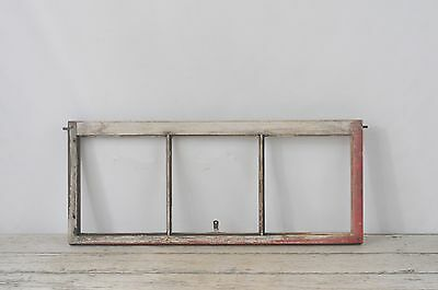 Antique/Vintage Wood Architectural Salvage Wood Barn Window Chippy Paint Window