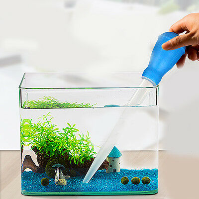 1Pc Aquariums Fish Tnak Sucker Water Changer Gravel Cleaner Mini Siphon Pump