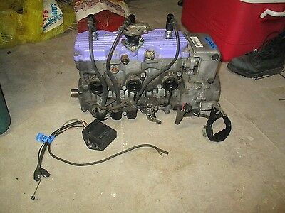 95 Polaris XLT Snowmobile Engine Motor 96 97 Indy 600 XC XCR Evolved Chassis ?