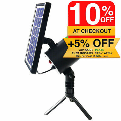 Lenoxx Indoor/Outdoor Solar Laser Light/Lights Projector/Party/Christmas/Decor