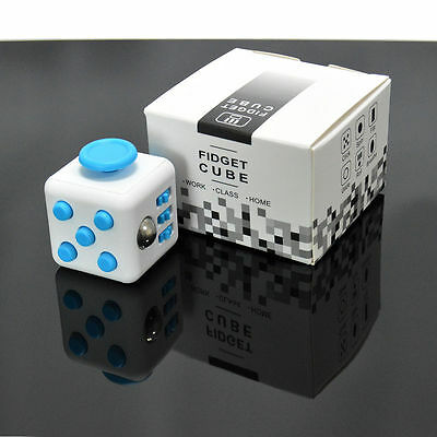 Magic Fidget Cube Anxiety Stress Relief Focus 6-side Gift For Adults&Child #8