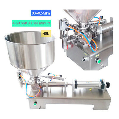 Automatic Filling Machine 100-1000ml for Sauce, Honey,Cream,Cosmetic,Tooth Paste