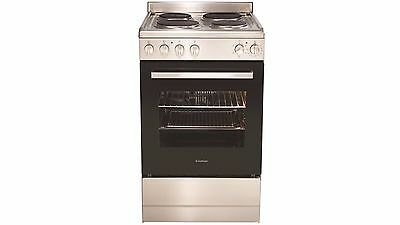 Euromaid 54cm Electric Stove, Stainless Steel, Model EFF54SS  RRP $899.00