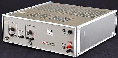 KH Krohn-Hite 7500 Benchtop Solid State DC-to-1MHz 75W Wideband Power Amplifier