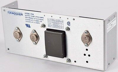 International Power IHCBB-75W 5VDC 6A Triple-Output Linear Power Supply Module