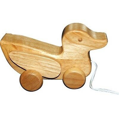 Wooden Pull Along Toys - Little Duck - 100 % Brand new - Safe Materials